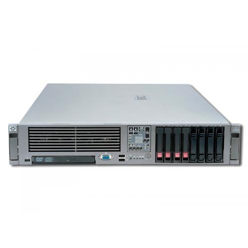 HP Proliant DL380 G5 2x Intel Xeon E5345 2.33 GHz. · 16 Gb. DDR2 ECC RAM · 2x 146 Gb. SAS 2.5'' 10000rpm · 2x 300 Gb. SAS 2.5''