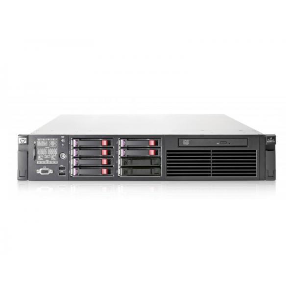 HP Proliant DL380 G7 2x Intel Xeon X5650 2.67 GHz. · 16 Gb. DDR3 ECC RAM · 18 bahías (10 vacías ) · 2x 146 Gb. SAS 2.5'' 10000r