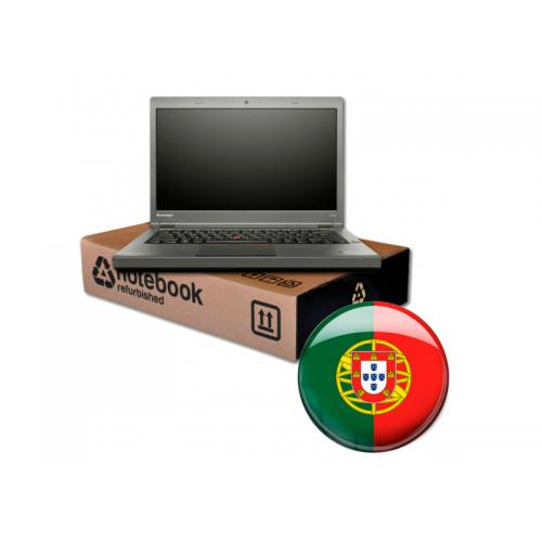 Lenovo ThinkPad T440p Intel Core i5 4300M 2.6 GHz. · 8 Gb. SO-DDR3 RAM · 500 Gb. SATA · DVD-RW · Windows 10 Pro (Portuguese) · T