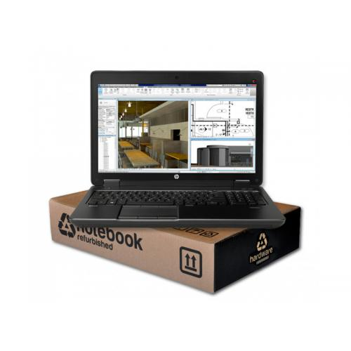 HP ZBook 15U G3 WorkStation Intel Core i7 6500U 2.5 GHz. · 16 Gb. SO-DDR4 RAM · 256 Gb. SSD · Teclado internacional con pegatina