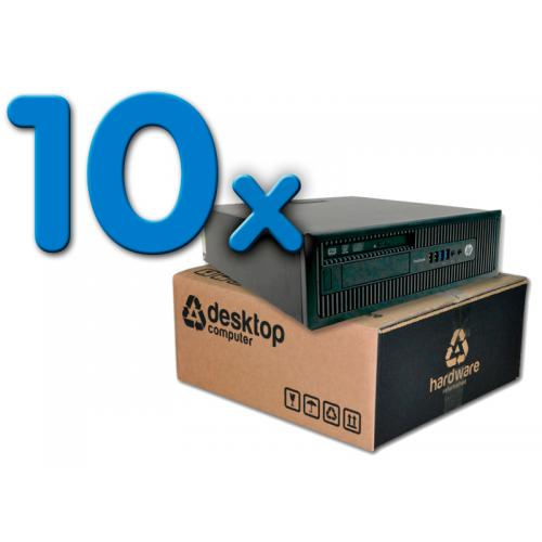 HP ProDesk 600 G1 Pack 10Pack 10 Unidades: Intel Core i5 4570 3.2 GHz. · 8 Gb. DDR3 RAM · 500 Gb. SATA · DVD · Windows 7 Pro