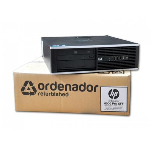 HP 6200 Pro SFF Intel Core i3 2100 3.1 GHz. · 4 Gb. DDR3 RAM · 250 Gb. SATA · DVD · Windows 7 Pro