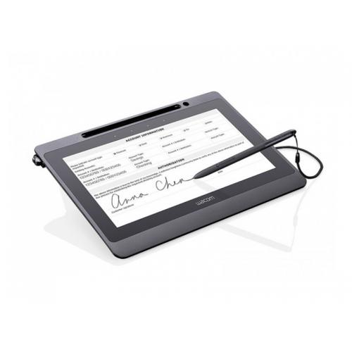 """Wacom DTU-1141 Vea y firme documentos de tamaño A4 y carta con un mínimo · Pantalla LCD de 10,6 """"con resolución Full HD · Lápiz"""
