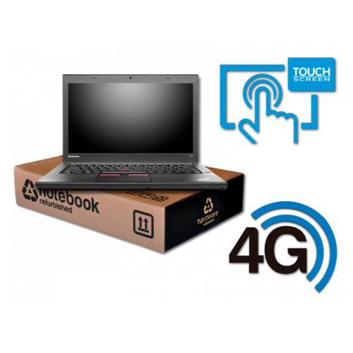 Lenovo ThinkPad T450s Intel Core i5 5300U 2.3 GHz. · 8 Gb. DDR3 RAM · 180 Gb. SSD · Teclado internacional con pegatinas en Caste
