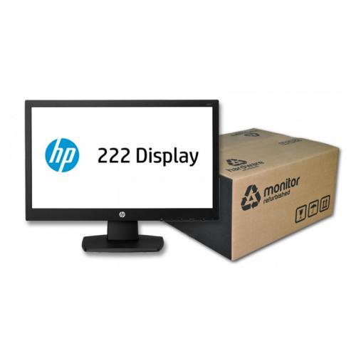 HP ProDisplay P222va Led 21.5 '' FullHD 16:9 · Resolución 1920x1080 · Pequeños arañazos en pantalla (Ver en ''+ Fotos'').