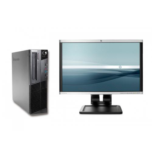 "Lenovo ThinkCentre M93P + TFT 22"" Intel Core i5 4570 3.2 GHz. · 8 Gb. DDR3 RAM · 500 Gb. SATA · DVD-RW · Windows 7 Pro · Monitor"