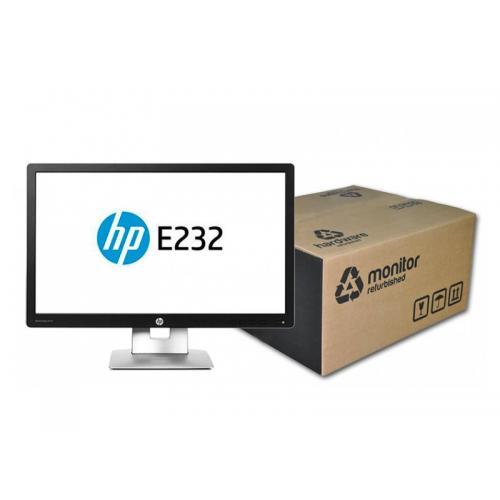 HP EliteDisplay E232 Led 23 '' FullHD 16:9 · Resolución 1920x1080 · Pequeñas manchas en pantalla. Pequeña rotura en marco de p