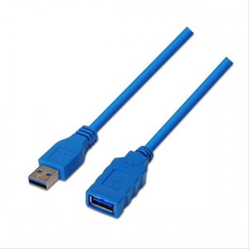 CABLE USB 3.0 A/M-A/H 1M AZUL NANOCABLE