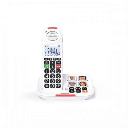 TELEFONO INALAMBRICO SWISSVOICE XTRA 2155 BLANCO