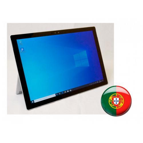 Microsoft Surface Pro 5 Intel Core i5 7300U 2.6 GHz. · 8 Gb. DDR3 RAM · 256 Gb. SSD ·Windows 10 Pro (Portugués) · Táctil 12.3 '