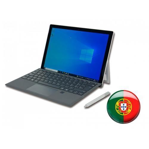 Microsoft Surface Pro 5 Kit Portugués Intel Core i5 7300U 2.6 GHz. · 8 Gb. DDR3 RAM · 256 Gb. SSD · Windows 10 Pro (Portugués) ·