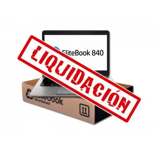 HP EliteBook 840 G3 Intel Core i5 6300U 2.4 GHz. · 8 Gb. SO-DDR4 RAM · 500 Gb. SATA · Teclado internacional con pegatinas en Cas